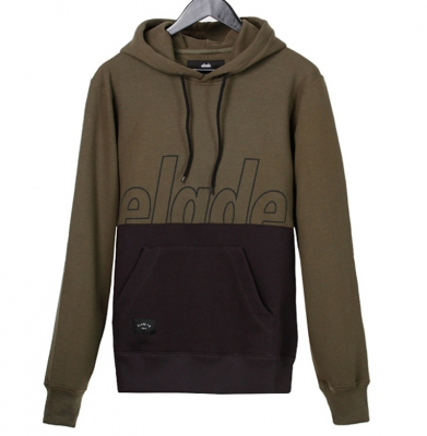 Bluza ELADE HOODY TWO TONE OLIVE/GRAPHITE