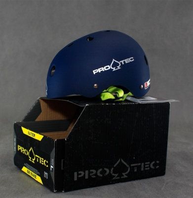 Kask PROTEC The Classic Matte Blue