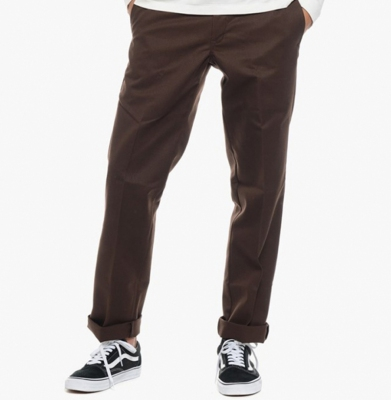 Spodnie DICKIES 894 Industrial Slim Work Pants Chocolate Bro