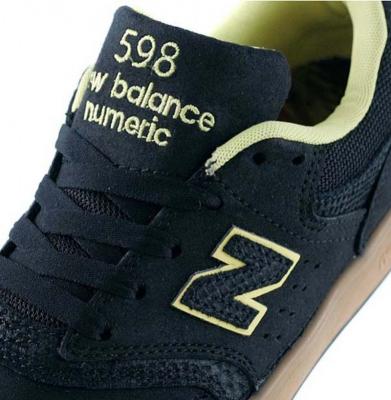 Buty NEW BALANCE Numeric 598 Black Gum