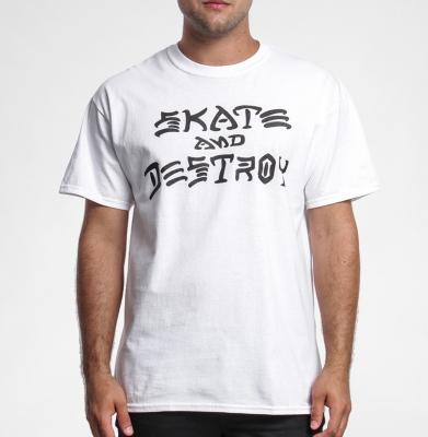 Koszulka THRASHER Skate And Destroy White