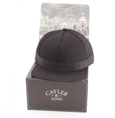 Czapka CAYLER & SONS SNAPBACK BLACK LABEL