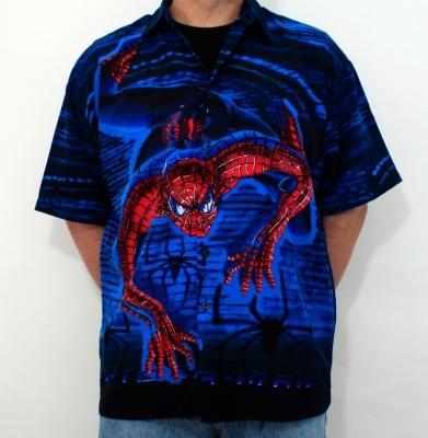 Koszula SPIDER MAN Niebieska