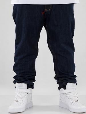 Spodnie MORO Slim Multiparis Ciemny Niebieski