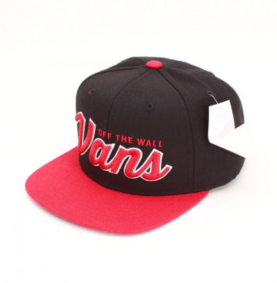 Czapka Snapback VANS Black/Red
