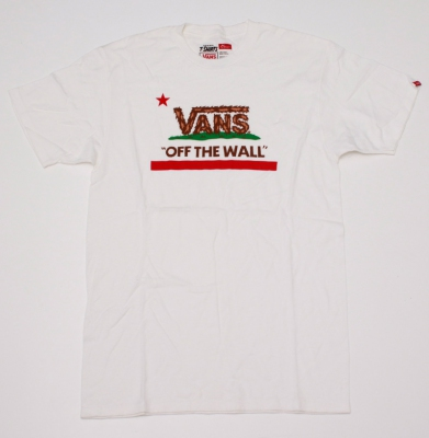 Koszulka VANS OFF THE WALL Eureka Bear WHITE