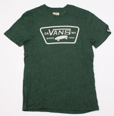 Koszulka VANS SKATEBOARD DG HEATHER GREEN