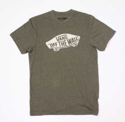 Koszulka VANS OFF THE WALL CLASSIC HEATHER OLIVE