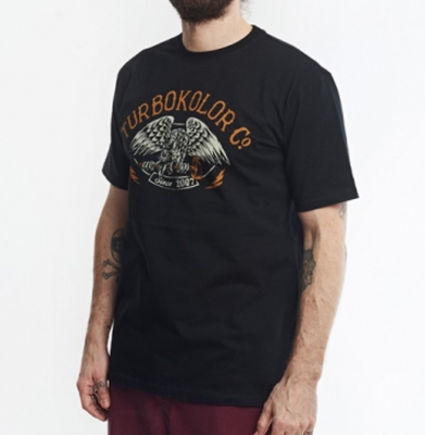 Koszulka TURBOKOLOR CREST TS Black