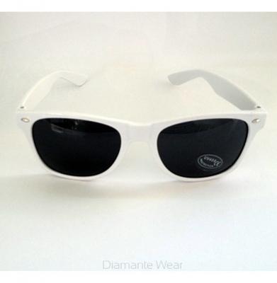 Okulary DIAMANTE WEAR 'Party Hard' Białe