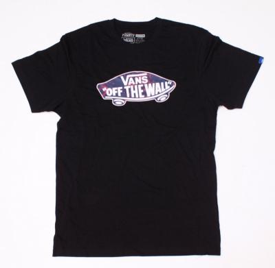 Koszulka VANS OFF THE WALL CLASSIC BLK