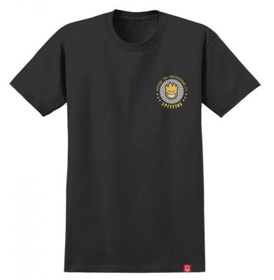 Koszulka SPITFIRE K.T.U.L. Black/Yellow
