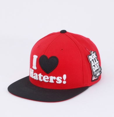 Czapka Snapback DGK I Love Haters Red