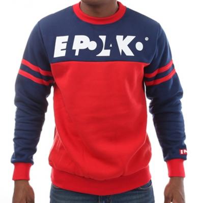 Bluza EL POLAKO Stripes Czerwono Granatowa