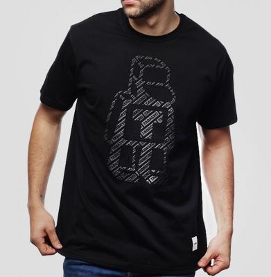 Koszulka TABASKO PATTERN Black