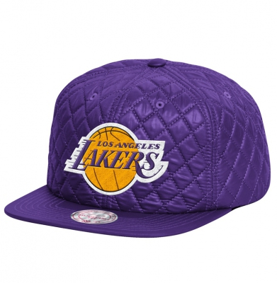Czapka MITCHELL & NESS SNAPBACK LOS ANGELS Quilted