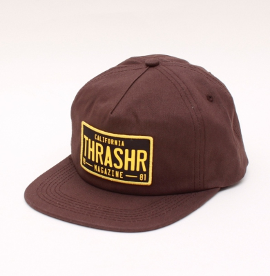 Czapka Snapback THRASHER Dmw Brown