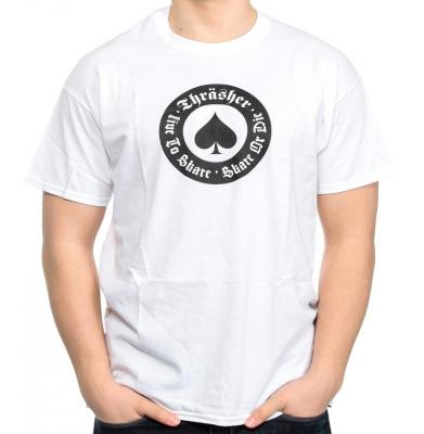 Koszulka THRASHER Oath White