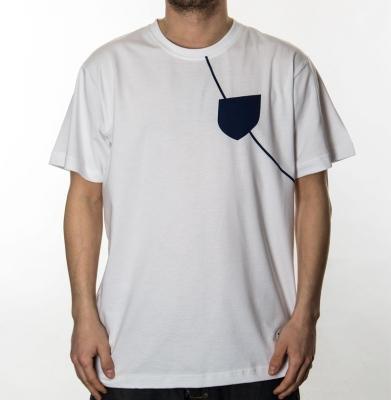 Koszulka PROSTO EL HOOK WHITE/NAVY