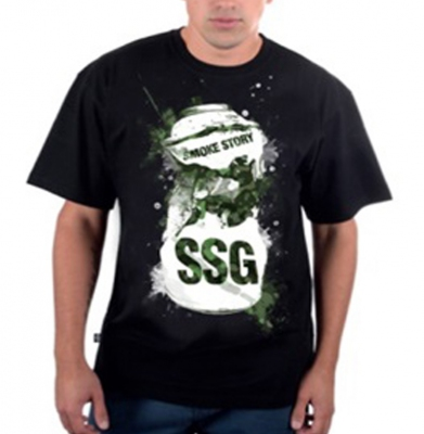 Koszulka SSG Spray Czarna