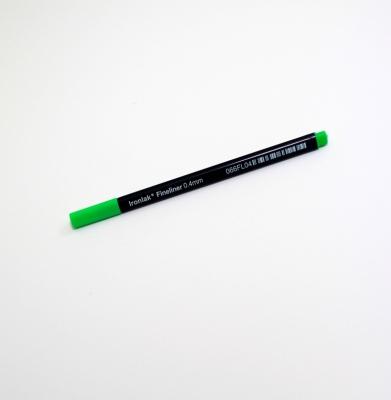 IRONLAK 0.4mm Fineliner Zielony