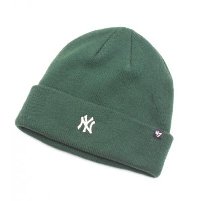 Czapka Zimowa 47 BRAND New York Yankees Zielona