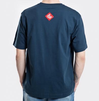 Koszulka STOPROCENT TM DOWNHILL 17 DARK BLUE