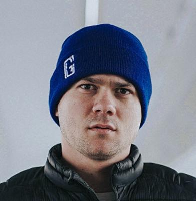 Czapka Zimowa G-FOR Niebieska