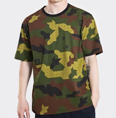 Koszulka STOPROCENT TM Camu Green