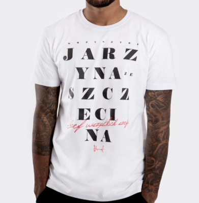 Koszulka STOPROCENT TMS JARZYNA White