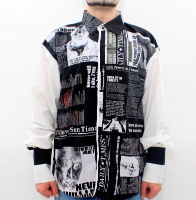 Koszula NYC Czarno/Biała
