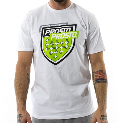 Koszulka PROSTO SPLITTING WHITE
