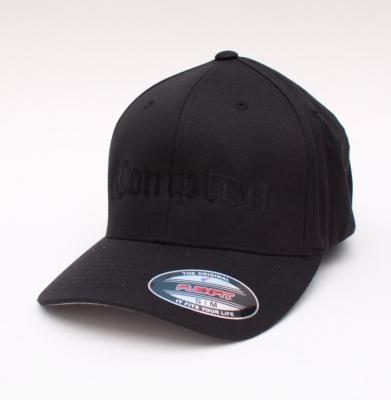 Czapka YUPOONG COMPTON Flexfit Black