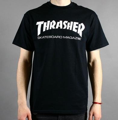 Koszulka THRASHER Mag Black
