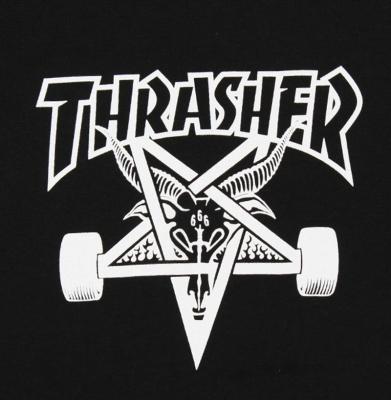 Koszulka THRASHER Skategoat Black