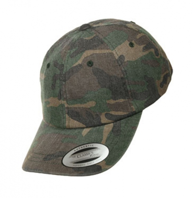 Czapka YUPOONG Flexfit Low Profile Camo Washed