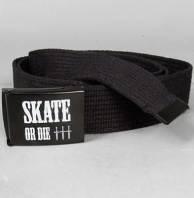 Pasek MALITA Skate Or Die Black