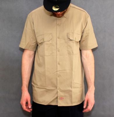 Koszula DICKIES SHORT SLEEVE Original Fit Khaki