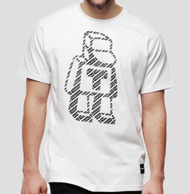 Koszulka TABASKO PATTERN White