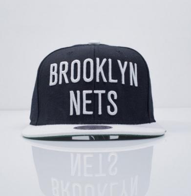 Czapka MITCHELL & NESS SNAPBACK Brooklyn Nets Logo 2 Tone