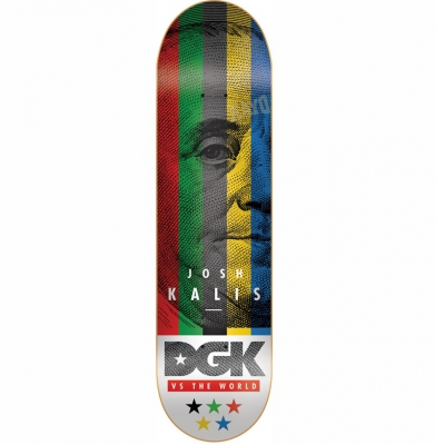 Deska DGK vs The World - Kalis 8.06' + Papier Gratis