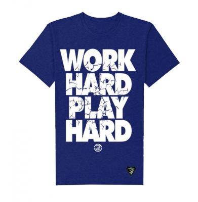 Koszulka GRUBE LOLO Work Hard Granatowa