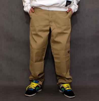 Spodnie DICKIES DOUBLE KNEE WORK PANTS Khaki