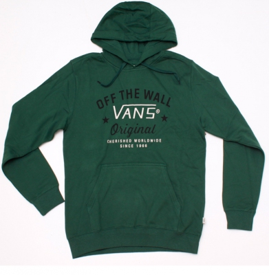 Bluza VANS OFF THE WALL Green
