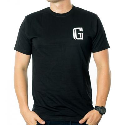 Koszulka G-FOR STRACH Czarna