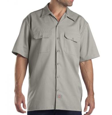 Koszula DICKIES SHORT SLEEVE Original Fit 1574 Silver