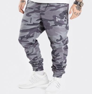 Spodnie Joggery STOPROCENT CLASSIC CAMO Green