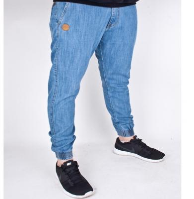 Spodnie MORO Joggery Slim Jasny Niebieski