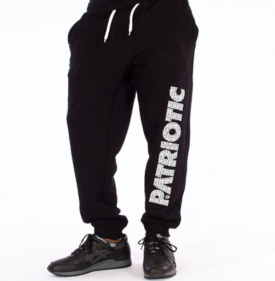 Spodnie Dresowe PATRIOTIC Futura Czarne