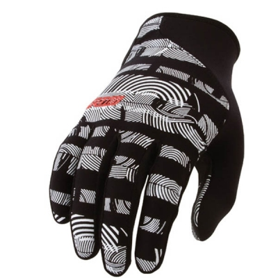 Rękawice POW CRAIL BLACK-WHITE
